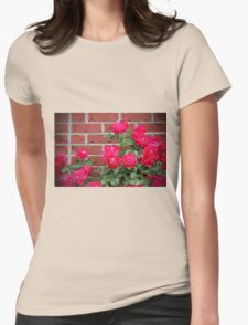 Antique Roses Womens Fitted T-Shirt