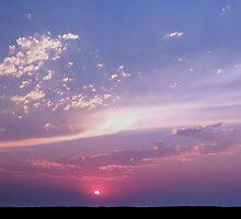 luminous sky  by nicole makarenco