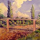 Bridge over the Triesting River by Gregory Pastoll