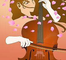 Lady Spirit Harnessing the Cello by emxacloud