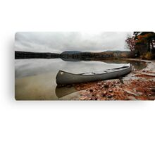 Canoe - After The Storm (Crystal Lake) Canvas Print