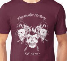 Rockabilly skull Trio Unisex T-Shirt