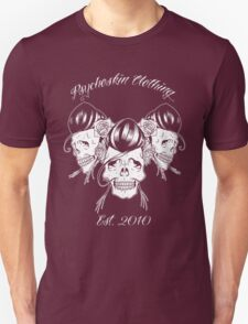 Rockabilly skull Trio T-Shirt