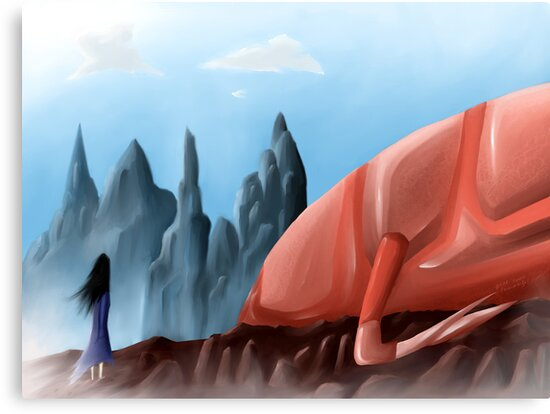 It- And the Glass Mountains by Ibrar Yunus