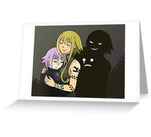 Soul Eater-- Motherly Love Greeting Card