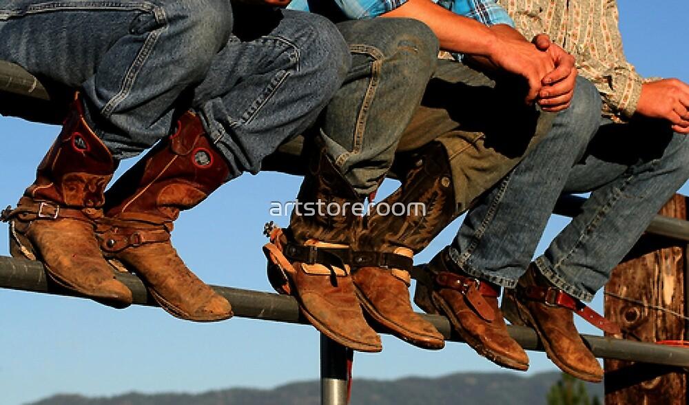 Cowboy Boots by artstoreroom