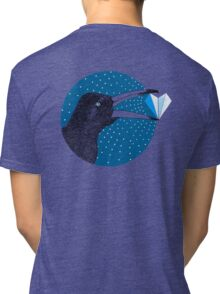 Magpie's Winter Heart Tri-blend T-Shirt