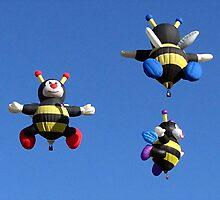 Wonderful Bee Family by Loree McComb
