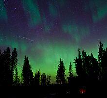 Good Morning Auroras by peaceofthenorth