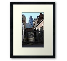 City of London from Brick Lane Framed Print