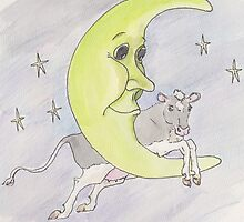 And the cow jumped over the moon by Marybeth Friel-Patton