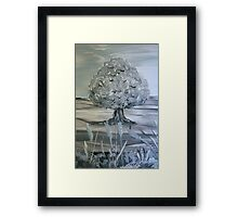 First repose of Winter Framed Print