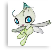 Celebi Pokemon  Canvas Print