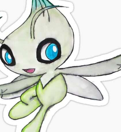 Celebi Pokemon  Sticker
