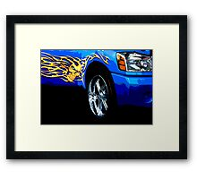 Blu Eyes Framed Print