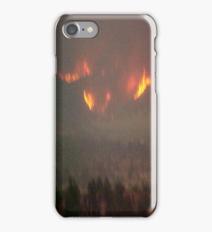 Rancho Cucamonga Fire1... iPhone Case/Skin