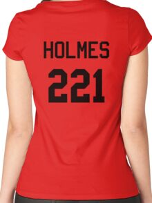 Sherlock Baseball-T Women's Fitted Scoop T-Shirt