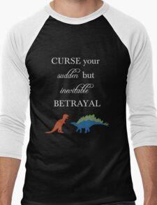 Curse Your Sudden But Inevitable Betrayal Men's Baseball ¾ T-Shirt