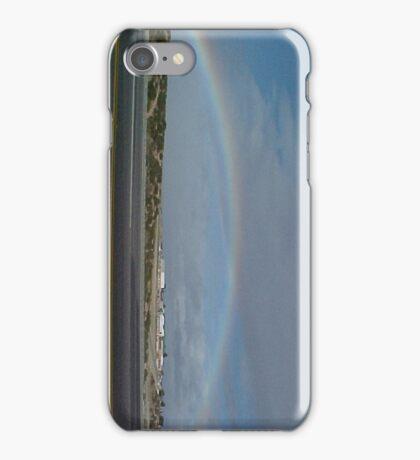 Rainbow Over Victorville, Ca... iPhone Case/Skin
