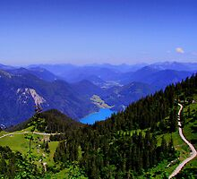 Karwendelgebirge Germany by Daidalos