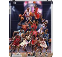 Michael Jordan career timeline  iPad Case/Skin