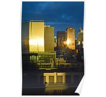 Melbourne Sunrise Poster