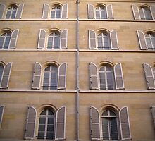 Parisian Windows by dury