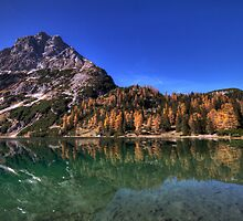 Reflection in the Seebensee by Stefan Trenker