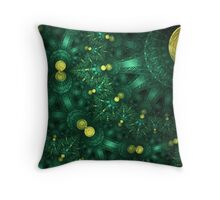 Lacy Ribbons Throw Pillow