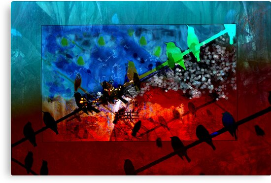 Bird Series... Night vision by linaji