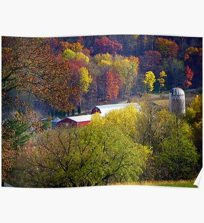 Autumn Down In The Valley Poster