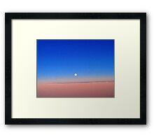 """A Painted Desert Moon"" Framed Print"