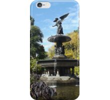 Bethesda Fountain, Autumn Colors, Central Park, New York City iPhone Case/Skin