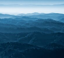 Morning Mist from the Mountaintop by Greg Booher