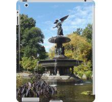 Bethesda Fountain, Autumn Colors, Central Park, New York City iPad Case/Skin