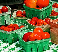 Tomatoes For Sale by Artondra Hall