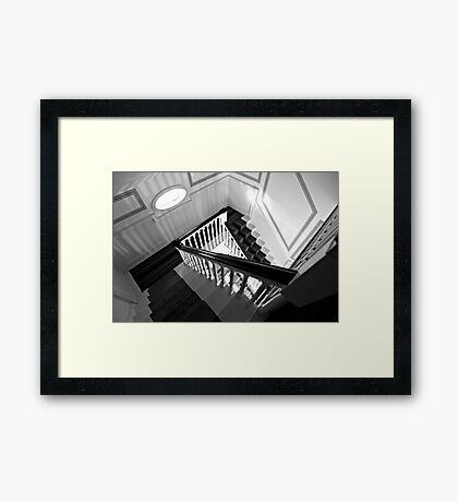 View From The Attic Framed Print