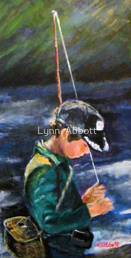"""""""Gone Fishin'""""  or """"Quiet Determination"""" by Lynn  Abbott"""
