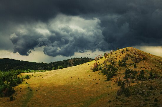 Thunder Rising  by John  De Bord Photography