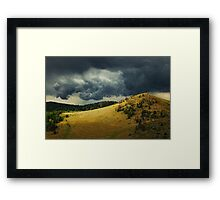 Thunder Rising  Framed Print