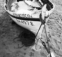 Old Spanish Fishing Boat by James2001
