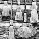 Old Brooms by Jane Best