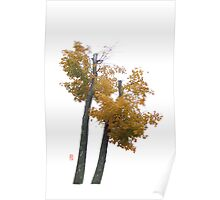 Yellow Fall Poster