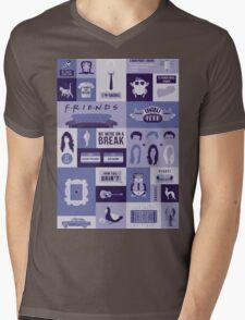 Friends TV Show Mens V-Neck T-Shirt