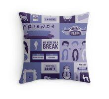 Friends TV Show Throw Pillow