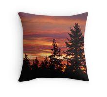 Seattle Sunrise Throw Pillow