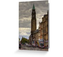 Shandwick Place Greeting Card