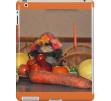 Fall Harvest Display iPad Case/Skin
