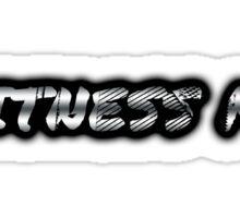 Witness Me - Chrome Sticker