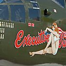 B 25J Nose Art  by Buckwhite